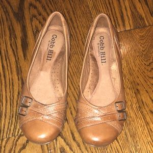 Cobb Hill leather flats shoes